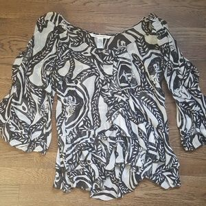 Diane Von Furstenberg blouse